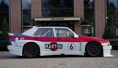 1987 75 Turbo Evoluzione IMSA with 1,8 lit Turbo and 300 HP