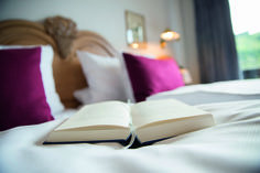 When was the last time you had plenty of time to read a good book?