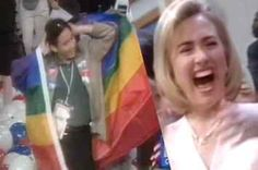 Here's The Time When The 1996 DNC Broke Out Into The Macarena