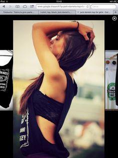jack daniels tshirt grunge | shirt: black, printed t-shirt, printed top, crop tops, jack daniel's ...