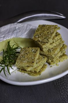 Mad Creations Keto Rosemary & Olive Oil Hemp Crackers such a beautiful tasty crispy cracker packed with hemp goodness. Bonus - they are simple to make!