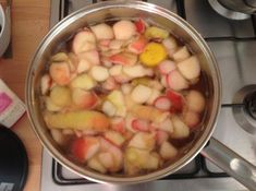 Bring to the boil and simmer for 15 minutes (smells amazing! Apple Peel Recipe, Pressure Canning, Preserves, Food To Make, Easy Meals, Tea, Vegetables, Cooking, Recipes