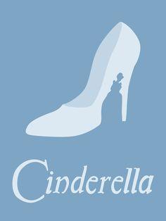 Minimalist Cinderella Poster. Love!