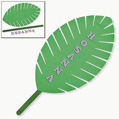 Palm Leaf Craft Kit - Vacation Bible School & Crafts for Kids Sunday School Crafts For Kids, Bible School Crafts, Bible Crafts, Palm Sunday Craft, Sunday School Activities, Bible Activities, Sunday School Lessons, Toddler Activities, Palm Branch Craft
