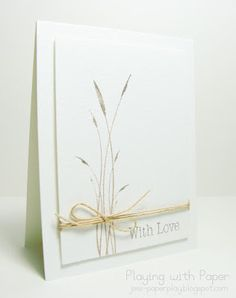 love these 'clean and simple' cards