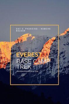 Everest Base Camp Trek - Phakding to Namche Bazaar - Nepal Himalaya Diary