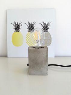 Beton Lampe selbermachen diy09