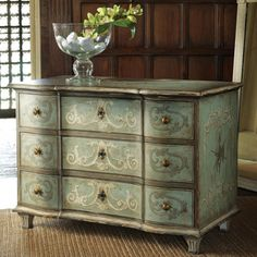 """She said: """"Love this...but not $4000.00 worth.""""  This is strange - I'm looking through posts hoping to get ideas about re-doing a dresser I found today by the dumpster.  I hauled it to the garage to do someday.  IT IS ALMOST EXACTLY LIKE THIS!!"""