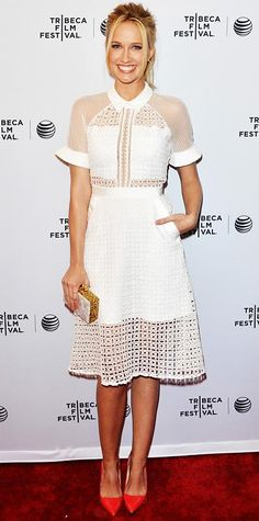 Look of the Day - Anna Camp - from InStyle.com