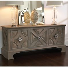 Shop this global views westmoreland light grey mango x media cabinet from our top selling Global Views buffet tables & sideboards. LuxeDecor is your premier online showroom for dining room furniture and high-end home decor. Painted Furniture, Modern Furniture, Stain Furniture, Furniture Storage, Media Furniture, Oversized Furniture, Hickory Furniture, Sideboard Furniture, Home Decor Ideas