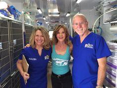 With Linda Blair and the Linda Blair WorldHeart Foundation