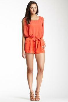 Open Back Romper by Double Zero on @HauteLook
