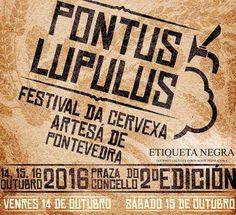 Pontos Lupulus 2016. Festival de la Cerveza Artesana de Pontevedra. Ocio en Galicia | Ocio en Pontevedra. Agenda actividades: cine, conciertos, espectaculos