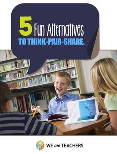 These five discussion techniques (and a little purposeful planning) go beyond the traditional Turn and Talk/Think-Pair-Share to give students an opportunity to deepen their understanding while practicing their verbal skills. // Article by We Are Teachers Cooperative Learning Strategies, Teaching Strategies, Teaching Ideas, Comprehension Strategies, Reading Activities, Classroom Activities, Classroom Ideas, Leadership Activities, Classroom Tools