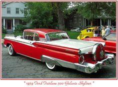 1959 Ford 2 door HT.