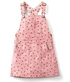Vintage Pink Tiny Bud Cord Overall Dress Boden Little Girl Outfits, Toddler Outfits, Kids Outfits, Kids Dungarees, Dungaree Dress, Lace Homecoming Dresses, Overall Dress, Kind Mode, Doll Clothes