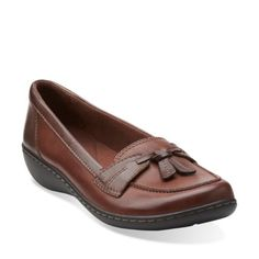 Ashland Bubble Brown Leather womens-flats