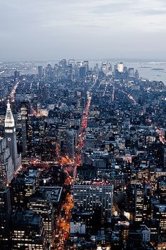 Down Town Manhattan