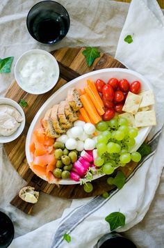 Plateau apéritif dînatoire