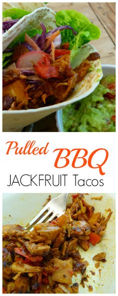 100% Vegan but has a meaty texture and rich, spicy, smokey taste that will have even the most hardened carnivore salivating. The Jackfruit filling recipe is made with a smokey BBQ sauce that pairs brilliantly with tacos, burritos or even to eat just on their own.  /search/?q=%23vegan&rs=hashtag /search/?q=%23recipe&rs=hashtag /search/?q=%23taco&rs=hashtag /search/?q=%23veganrecipe&rs=hashtag /search/?q=%23jackfruit&rs=hashtag