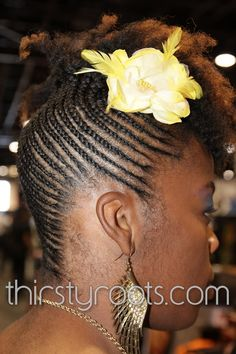 Cornrow Hairstyles | Braid and cornrow designs | thirstyroots.com: Black Hairstyles and ...