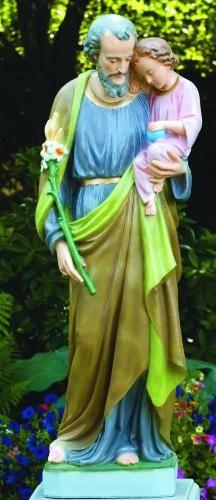 Saint Joseph Church Statue Life Size Religious Sculpture