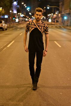 Trending T-Shirts! Geometric Illusion Print. Who says Tees should be boring? | Men's Casual @ rickysturn