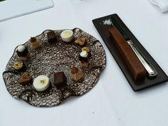 Plate at restaurant De Treeswijkhoeve * * Waalre, The Netherlands.