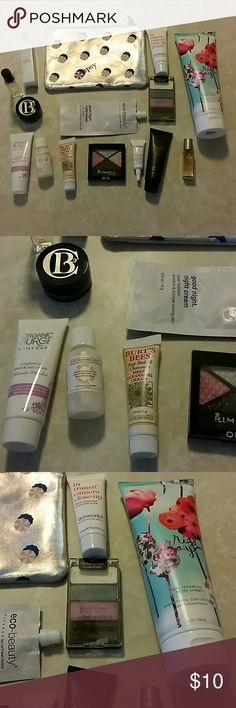 Misc Makeup & Skincare Bundle Misc Makeup & Skincare Bundle. 2 eyeshadow are open but unused. Makeup