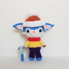 League of Legends Snow Day Gnar Amigurumi