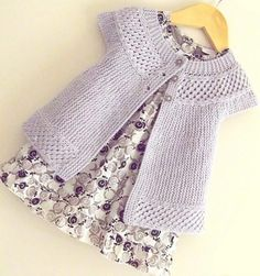 knitting: Baby Angel Top by OGE Knitwear Designs on the LoveKnitting blog