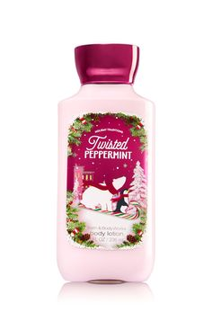 Twisted Peppermint Body Lotion - Signature Collection - Bath & Body Works