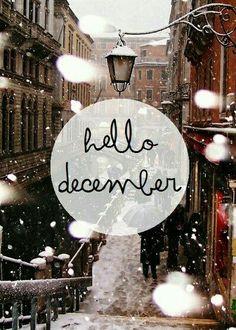 Hello december ❄⛄