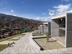 Parque Biblioteca San Javier, Medellin, Antioquia, Colombia