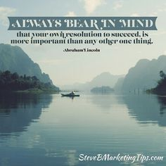 Always bear in mind that your #resolution to #succeed is more important than any other one thing. ____________________________________ Learn how I can help you #attractwealth and build a #residualincome click the link in my bio @steve_bickford or go to: http://ift.tt/2hPxt0m ____________________________________ #truth #positive #mindset #inspiration #motivation #bestoftheday #quotes #entrepreneurs #mlm #networkmarketing #business #coachstevebickford