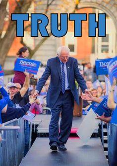 Bernie speaks truth, for the people. @BernieSanders @SenSanders