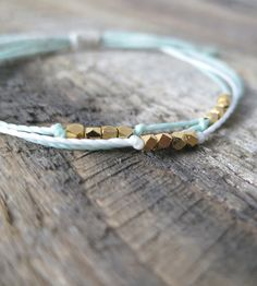 Gold Nugget Cord Bracelet | Jewelry Bracelets | Cherise's Pieces | Scoutmob Shoppe | Product Detail
