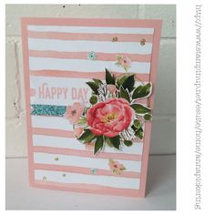 Stampin' Up! Birthday Bouquet DSP Perfect Pairings SAB 2016