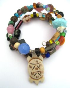 wrap bracelet made byLee Morgan from LC.Pandahall.com