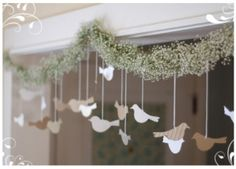 Love Birds Bridal Shower Simple decor nice