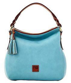 Dooney and Bourke Twist Strap Hobo Bag #Dillards - purses totes and handbags, women's handbags on sale, affordable purses and handbags