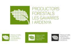 #Disseny de #logotip i imatge de marca per Productors Forestals les Gavarres i Ardenya