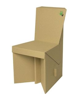 Build A Chair Out Of Cardboard That Will Support The Weight One Our Partners We Are Not Allowed To Use Any Adhesiveness Such As Glue Or Tape In