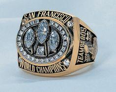Super Bowl XXIII : Super Bowl rings through the years
