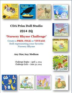 "CDA- Prim Doll Studio 2Q 2014 ""The Nursery Rhyme Challenge"""