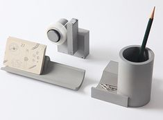 Merge Concrete Tape Dispenser — ACCESSORIES -- Better Living Through Design