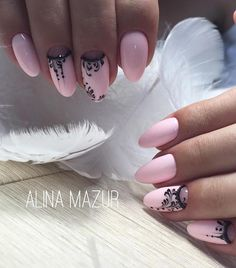 "2,446 Likes, 3 Comments - Маникюр / Ногти / Мастера (@nail_art_club_) on Instagram: "" Все виды френча на странице @frenchmanic Repost @alina_mazur_nails_vzm ・・・ •Комбинированный…"""