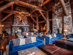 Grand Timber Imposing Log House  (20)