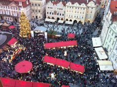 Christmas Markets in Old Town Square, Prague | FlorenceForFun