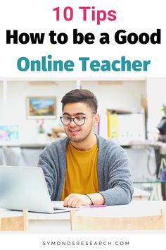 How to be a good online teacher tips and advice. Things worth doing and considering to be the best online tutor you can for your students. Jobs For Former Teachers, Online Classroom, Teachers Online, College Classes, College Tips, Tutoring Business, Teaching Jobs, College Teaching, Online Lessons